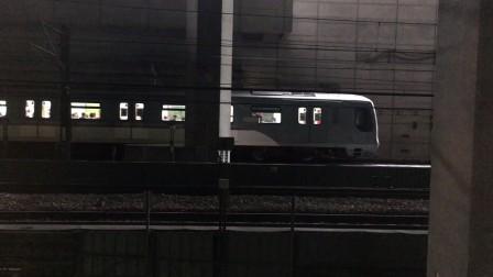 港鐵東涌線K-Train V613/V813離開及CAF-Train V808/V608到達南昌站