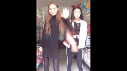 社会摇【优豆音乐】美女黑色紧身裤系列3
