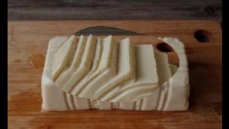 五分钟鸡蛋豆腐羹,附盒装豆腐脱模大法!