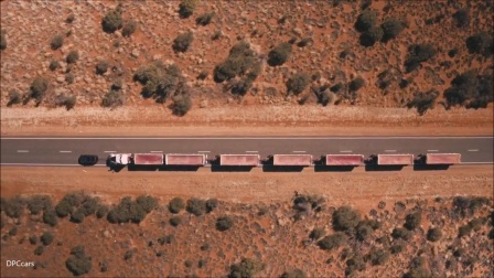 2018 Land Rover Discovery Towing 110 Tonne Train