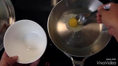 De Buyer 五层不锈钢夹铝煎锅 早饭煎蛋