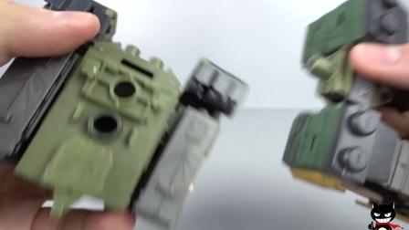 【黑仔玩具分享】酸雨 B2FIVE R11 镇暴斯比达 & K6 丛林机动堡垒