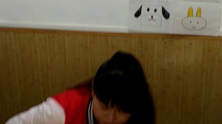 教师岗位培训第八期一班21号张倩辽师版教学活动展示绘画《添画动物》大班上