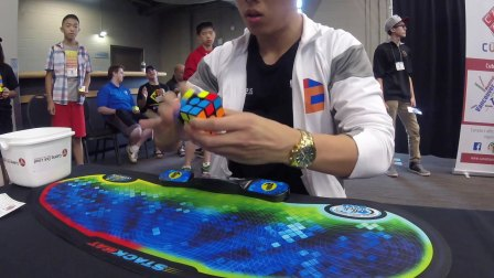 4.94+2 official Rubik's cube solve Bill Wang