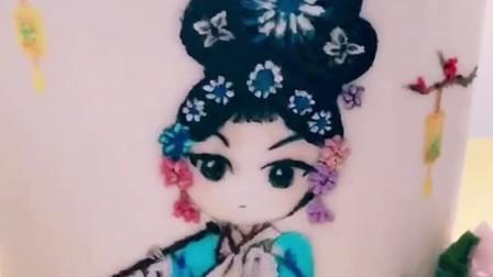 韩式裱花、蛋糕手绘刷绣、君悦西点学员课堂作品