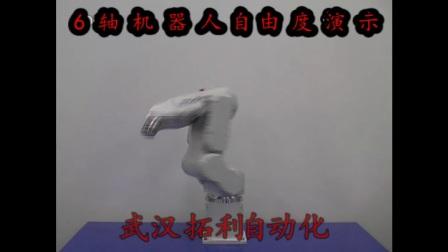 武汉拓利自动化---EPSON 6轴机器人 自由度演示