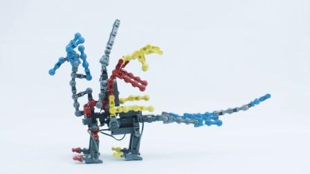 能力风暴教育机器人项目展示——龙骑士