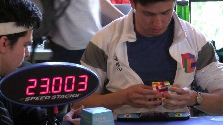 Kevin Hays  7x7 Rubik's Cube World Record Average 2:15.07