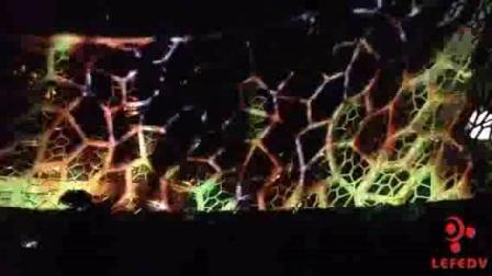 上海力富WATCHOUT案例-自然博物馆外墙投影案例