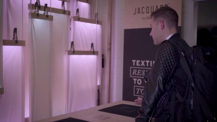Jacquard™ by Google: Trying on the jacket for the first time