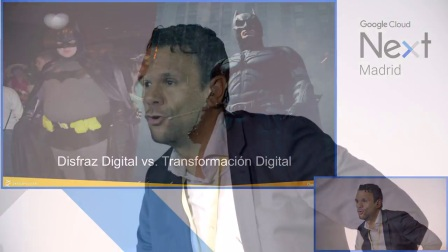 "Google Cloud Next Madrid '17- Víctor Alcaraz: ""Entelgy - Transformacíon Digital"""
