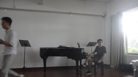 蒋志伟教授声乐技巧大师班上课实录  学员:张帆2