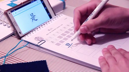 BeijingCursus - Write chinese characters with mobile app and writing book