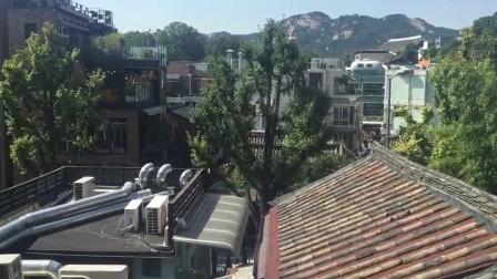 北村韩屋咖啡厅 咖啡不重要~~看看窗外的景儿