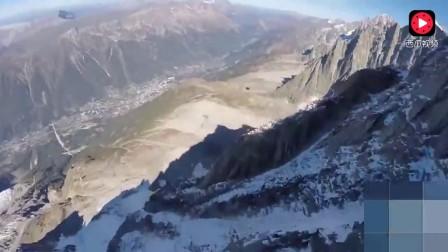 意大利翼装飞行大神高空极速滑行时撞上了一颗树,当场死亡