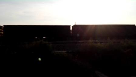金千线(金华-千岛湖)拍火车-东风4B3023西瓜牵引货物列车