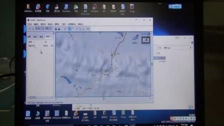 手持机GPX文件转换CAD用DXF文件教程