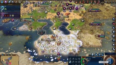 [杰哥]文明6努比亚烂地屈辱文化胜利4