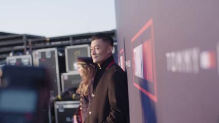 余文乐出席FA17 TOMMY NOW 时装秀现场视频