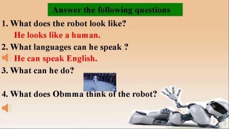 初中英语组八年级上册微课一等奖,Will you have your own robots