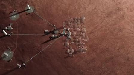 Supporting the creation of a permanent, self-sustaining human presence on Mars
