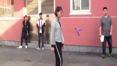 曙光职专毽球项目记录保持者:韩婉芬