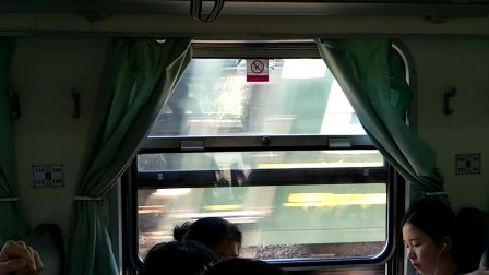 长沙永州车德比 2017-10-1 K6633待避K9001