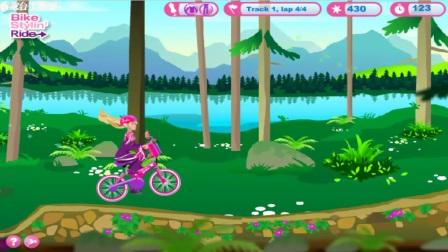 芭比之美人鱼历险记2芭比骑自行车