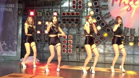 韩女团Pocket Girls Cover Twice舞蹈饭拍完整版