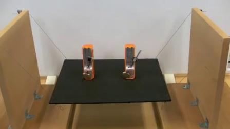 两个节拍器钟摆会出现同相和逆相两种截然不同的振动