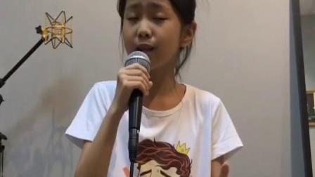 夏侯钰涵《那些你很冒险的梦》-简易版-翻唱歌曲-请勿满屏播放(旧播放器)  #音乐##天籁童声#