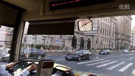 上海巴士一公司五车队123区间公交车[(自动挡女王)S0F-135(余伟国师傅)]人民广场→岳阳医院_标清