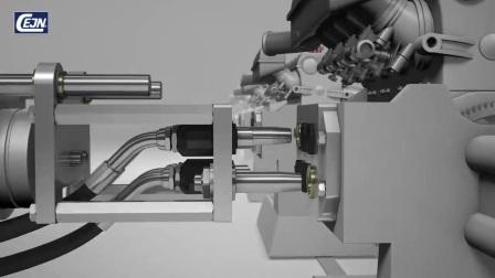 一款可以带压连接的液压快速接头,特殊液压快速接头