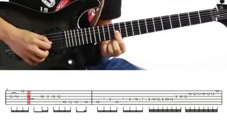 一鸣电吉他教学 - BEYOND Amani 间奏_mda-hi3sz9w8w1uhfpsf