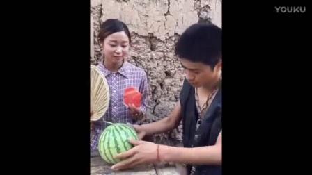 幽默段子- 农村小媳妇卖西瓜, 笑死我了