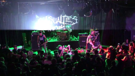 THE CASUALTIES     Hollywood, CA.  10-1-2017