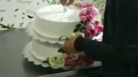 苏米家&六层婚礼鲜花蛋糕