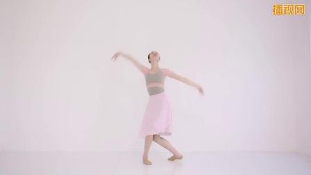 古典舞《落花》教学-舞蹈完整示范-播视网-好生活,动起来