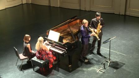 三士勒《音乐会二重奏》克劳德·德朗格勒(迪朗格) & 奥蒂勒·德朗格勒 & 姜汉超