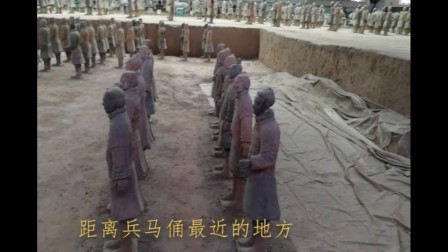 陕西西安临潼区兵马俑博物馆,秦始皇的皇家禁卫军就是壮观