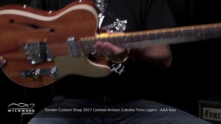 Fender Custom Shop Artisan telecaster