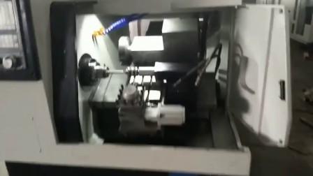 中星数控,数控斜车H32机床,液压筒夹,电动刀架,液压尾座,车方飞刀,斜车线轨。15858629168