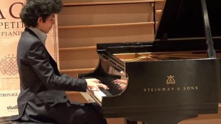 Tony在图雷克巴赫国际青年钢琴家比赛获奖音乐会上的演奏(贠思齐)