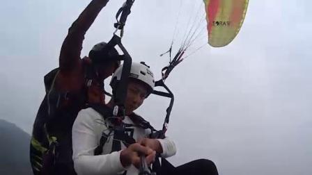 无动力双人滑翔伞带飞体验 - 乘客:刘亮