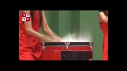 临汾姑娘们表演的《水鼓》太精彩了