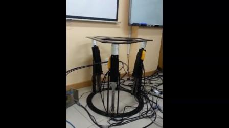 直线电机3自由度并联机构摇摆台