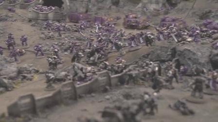 【战锤30K】军团之间的战争:荷鲁斯之乱 场景制作合集P1