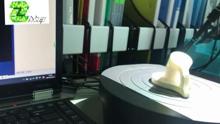 3d扫描仪扫描工件模型