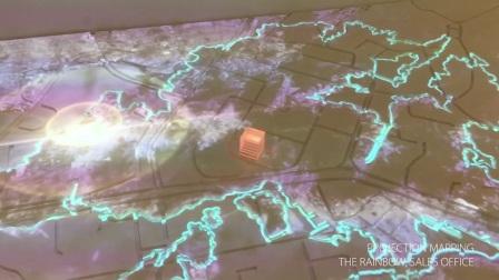 3DsHK X The Rainbow 虹方商業中心 銷售中心3D投影