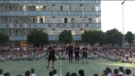 广州市花都区新华街第六小学 花样跳绳邀请跃动俱乐部表演赛
